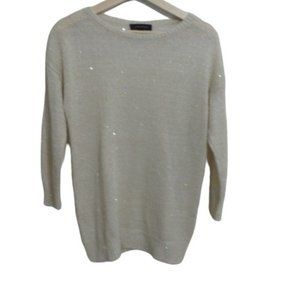 Ann Taylor Sweater Size S Knit Lightweight Sparkle